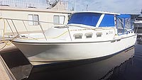 1986 Albin 27 foot cruiser for sale in the Buckhorn area northeast of Toronto, Ontario, Canada.
