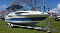 1986 Searay 250 Sundancer for sale in the Lindsay area northeast of Toronto, Ontario, Canada.
