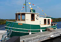 1987 Hobby Tugboat for sale in the Lindsay area northeast of Toronto, Ontario, Canada.