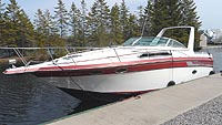 1988 Regal 280 for sale in the Lindsay area northeast of Toronto, Ontario, Canada.