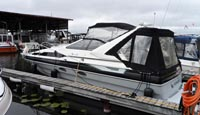 1989 Bayliner 3255 Avanti for sale in the Lindsay area northeast of Toronto, Ontario, Canada.
