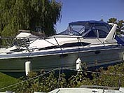 1989 Bayliner 2955 Avanti Sold in the Lindsay area north east of Toronto, Ontario, Canada.