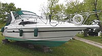 1990 Cadorette 280 Holiday for sale in the Lindsay area northeast of Toronto, Ontario, Canada.