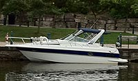 1990 Doral Monticello 270 for sale in the Lindsay area northeast of Toronto, Ontario, Canada.