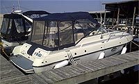 1990 SUNRAY 2800 INFINITY FOR SALE IN THE LINDSAY AREA NORTHEAST OF TORONTO, ONTARIO, CANADA SIMILAR TO THE 1991, 1992, 1993 AND 1994 MODELS.