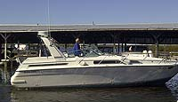 1991 Four Winns 365 Express sold by a marine boat and yacht broker in the Pickering, Whitby, Bowmanville, Peterborough, Cobourg, Belleville, Trenton and Brighton areas of  Ontario, Canada.