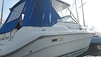 1994 Sea Ray 330 Sundancer for sale in the Port Dover area west of Toronto, Ontario, Canada.