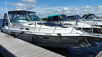 1996 Doral 350SC sold by a marine boat and yacht broker in the Pickering, Whitby, Bowmanville, Peterborough, Cobourg, Belleville, Trenton and Brighton areas of  Ontario, Canada.