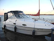 1996 Four Winns 258 sold in the Lindsay area north east of Toronto, Ontario, Canada.