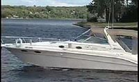 1998 Sea Ray 330 Sundancer sold sold by a marine, boat and yacht broker in the Pickering, Whitby, Bowmanville, Peterborough, Belleville, Trenton and Brighton areas of  Ontario, Canada.