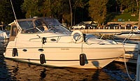 2000 Regal 2760 Commodore sold by a marine, boat and yacht broker in the Pickering, Whitby, Bowmanville, Peterborough, Belleville, Trenton and Brighton areas of  Ontario, Canada.