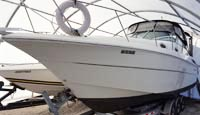 2001 Monterey 302 for sale in the Lindsay area northeast of Toronto, Ontario, Canada by Ontario boat and yacht brokers.