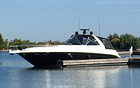 2000 Sea Ray 460 Sundancer for sale in the Whitby area by a boat and yacht broker in the Belleville, Trenton, Brighton and  Kawartha Lakes area of Ontario, Canada.
