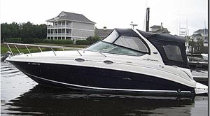 2005 Sea Ray 280 Sundancer for sale in the Trenton area east of Toronto by Ontario marine, boat and yacht brokers offering power boats and sailboats for sale in the Kingston, Whitby, Brighton, Cobourg, Trenton And Belleville Areas Of Ontario Canada.