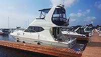 2005 Silverfton 34 Convertible for sale in the Trenton area east of Toronto, Ontario, Canada.