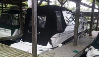 2006 Four Winns 248 with factory trailer sold by a marine, boat and yacht broker in the Pickering, Whitby, Bowmanville, Peterborough, Belleville, Trenton and Brighton areas of  Ontario, Canada.