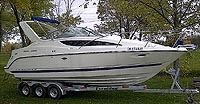 2007 Bayliner 285 SB Mid Cabin sold by a marine boat and yacht broker in the Pickering, Whitby, Bowmanville, Peterborough, Cobourg, Belleville, Trenton and Brighton areas of  Ontario, Canada.