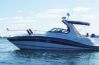 2008 Four Winns 338 sold by a marine, boat and yacht broker in the Pickering, Whitby, Bowmanville, Peterborough, Belleville, Trenton and Brighton areas of  Ontario, Canada.