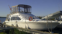 1994 Mainship 40SB sold by a marine, boat and yacht broker in the Pickering, Whitby, Bowmanville, Peterborough, Belleville, Trenton and Brighton areas of  Ontario, Canada.