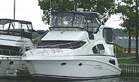 2003 Silverton 39 MY sold by a marine, boat and yacht broker in the Pickering, Whitby, Bowmanville, Peterborough, Belleville, Trenton and Brighton areas of  Ontario, Canada.