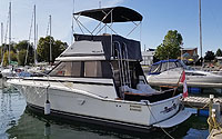 1986 Trojan F32 for sale in the Trenton area east of Toronto, Ontario, Canada by Ontario boat and yacht brokers.