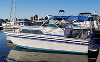 1988 Chris Craft Grew 290 for sale in the Trenton area east of Toronto, Ontario, Canada by Ontario boat and yacht brokers.