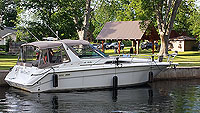 1991 Sea Ray 350 Sundancer for sale in the L:akefield area northeast of Toronto, Ontario, Canada.