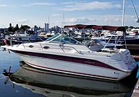 1995 Sea Ray 270 Sundancer for sale in the Trenton area east of Toronto, Ontario, Canada.
