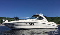 2008 Sea Ray 380 Sundancer for sale in the Trenton area east of Toronto, Ontario, Canada by Ontario boat and yacht brokers.