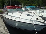 1988 Chris Craft 322 Commander Sold in the Lindsay area north east of Toronto, Ontario, Canada.