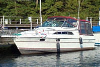 1991 Cruisers 2970 Rogue - This boat was for sale and sold in the Toronto or Kawartha lakes area of Ontario, Canada.