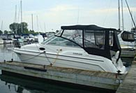 1996 Carver 260 - This boat was for sale and sold in the Toronto or Kawartha lakes area of Ontario, Canada.