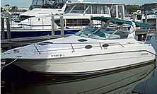 1996 Sea Ray 300 Sundancer  - This boat was for sale and sold in the Toronto or Kawartha lakes area of Ontario, Canada.