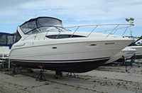 1999 Bayliner 3055 - This boat was for sale and sold in the Durham Region area of Ontario, Canada.