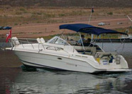 1999 Rinker 280 Fiesta Vee - This boat was for sale and sold in the Toronto or Kawartha lakes area of Ontario, Canada.