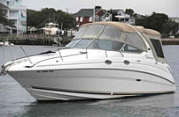 2001 Sea Ray 280 Sundancer - This boat was for sale and sold in the Toronto or Kawartha lakes area of Ontario, Canada.