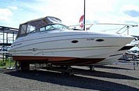 2003 Larson 274 Cabrio - This boat was for sale and sold in the Toronto or Kawartha lakes area of Ontario, Canada.